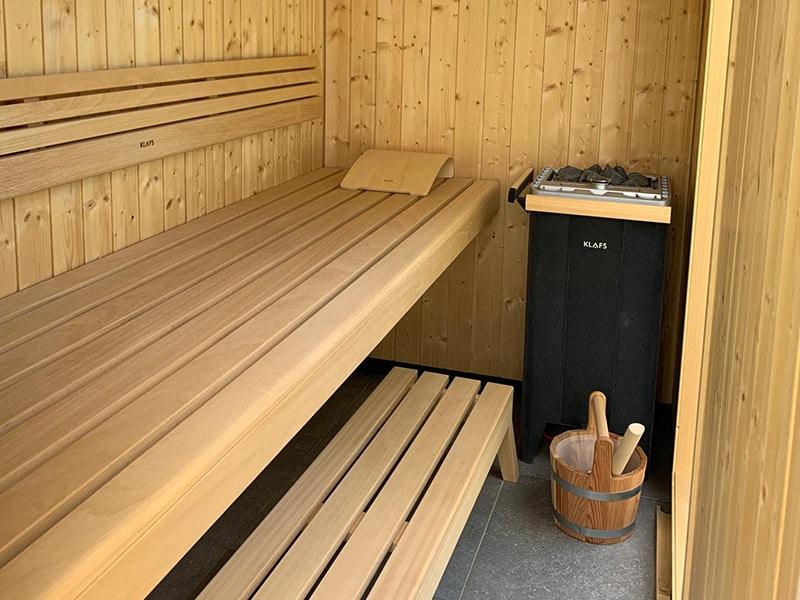 Sauna zwemparels