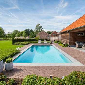 Zwembad inbouw Leuven